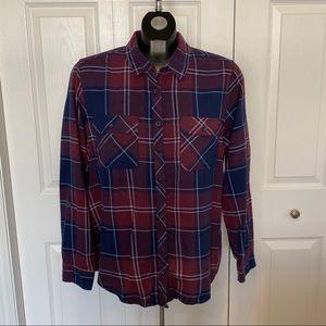 Wind River Plaid long sleeve button down shirt XL